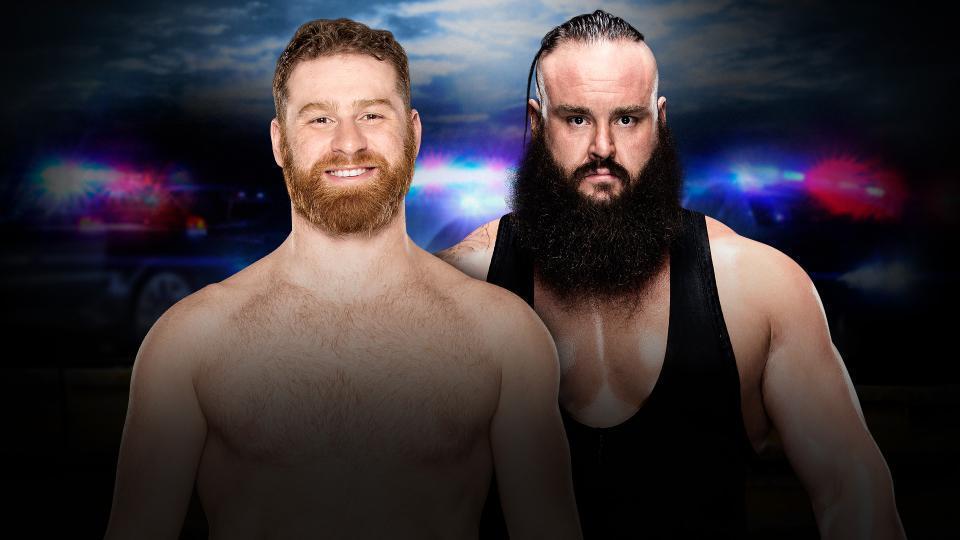 Sami Zayn vs. Braun Strowman