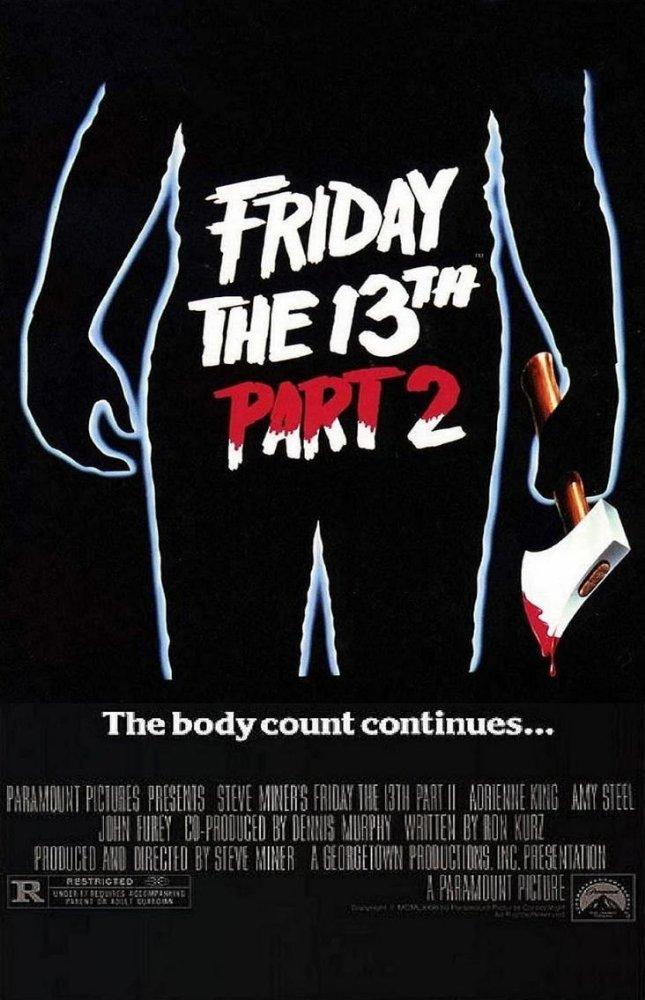 10. Friday the 13th: Part 2 (1981)
