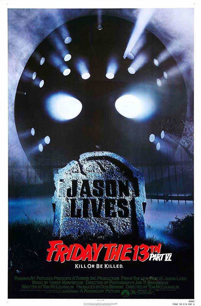 4. Jason Lives: Friday the 13th Part VI (1986)