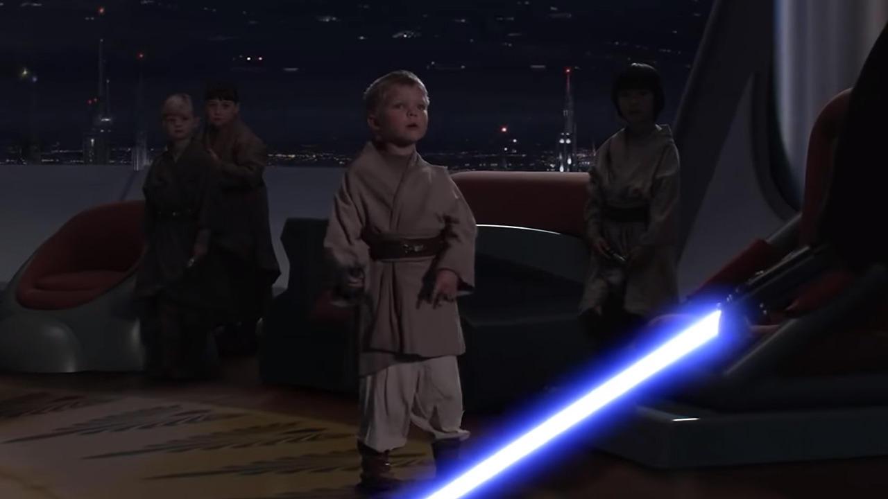 Anakin's Turn To The Dark Side