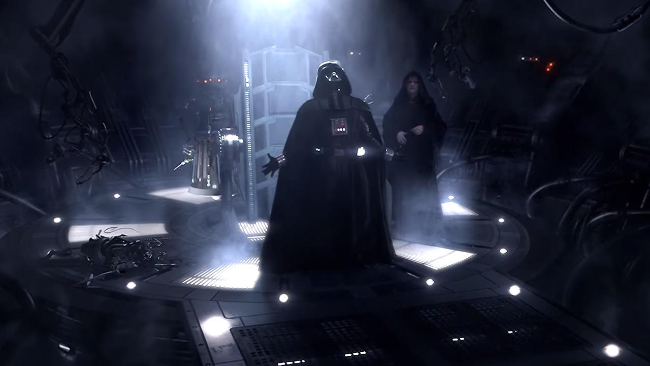 The First Canonical Appearance Of Darth Vader