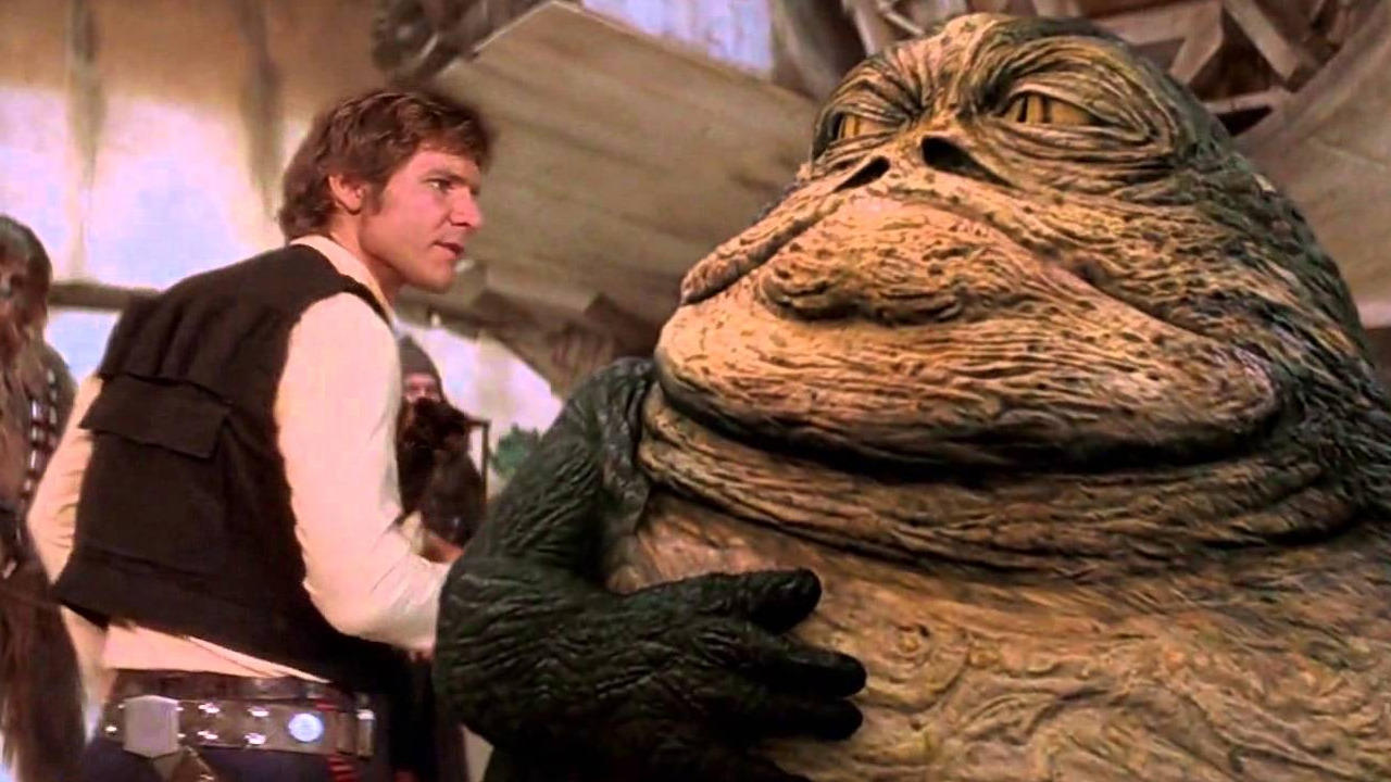 Han Steps On Jabba's Tail