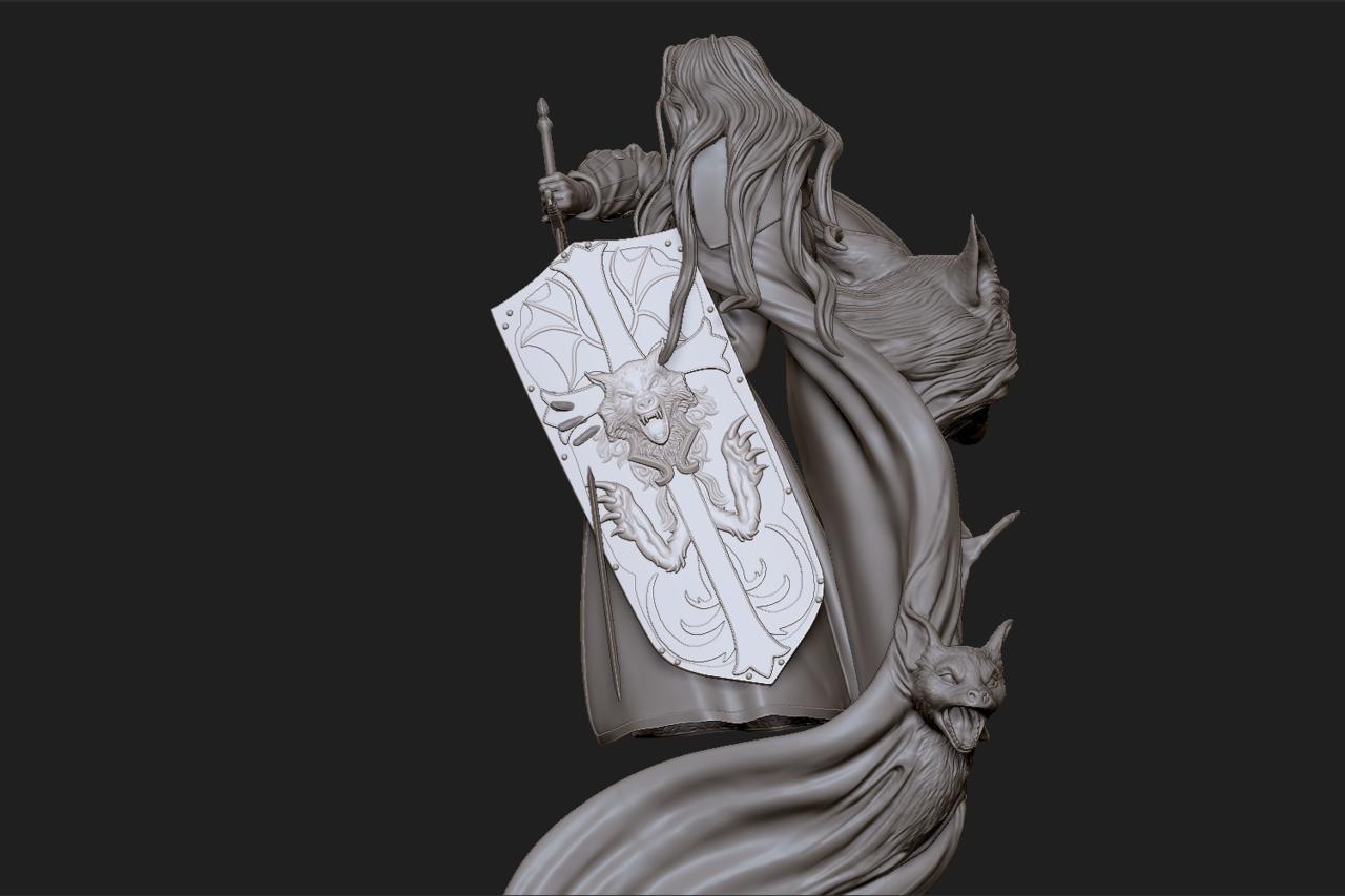 3D Model Of Mondo Exclusive Statue