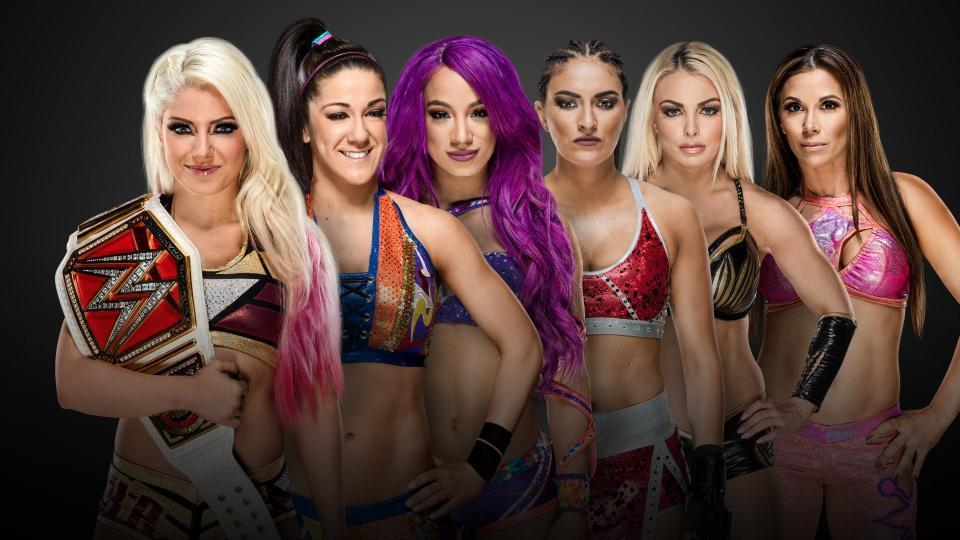 Women's Elimination Chamber Match