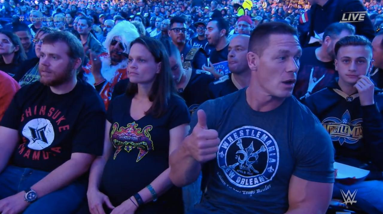 Cena Ordering More Beer And A Popcorn