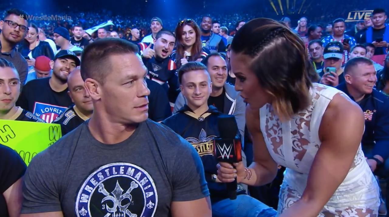 The First Time A Fan Was Interviewed During Wrestlemania