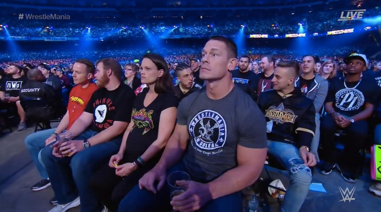 Cena Wondering If He Left The Garage Door Open