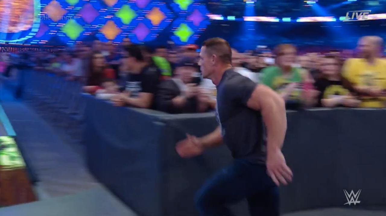 Cena Goes For A Jog