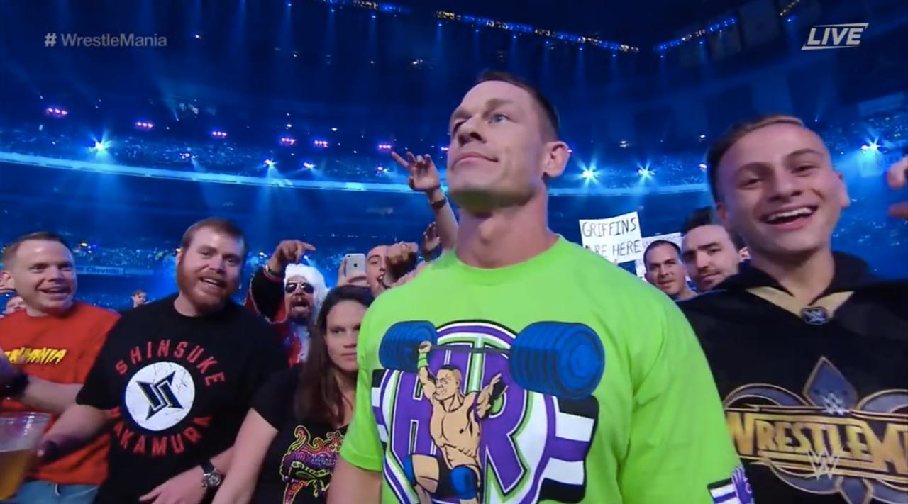 John Cena Returns In A Fresh Shirt