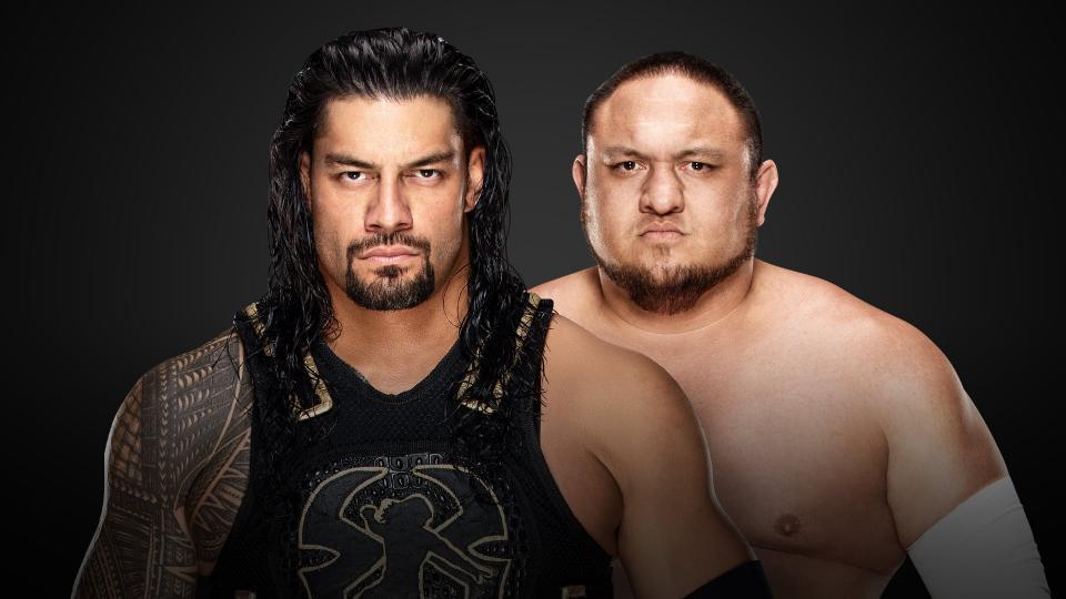 Roman Reigns vs. Samoa Joe