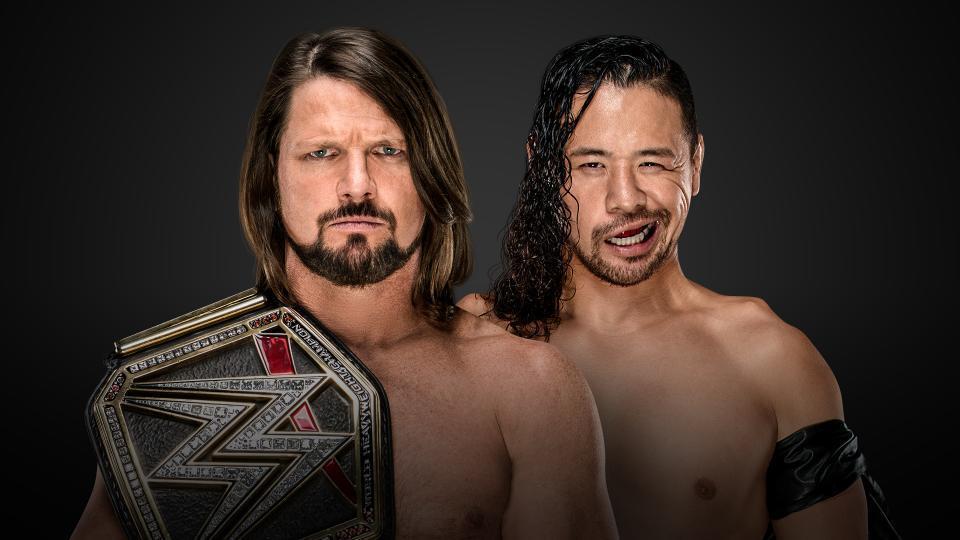 AJ Styles (c) vs. Shinsuke Nakamura (No DQ Match)