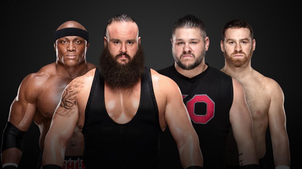 Braun Strowman & Bobby Lashley vs. Kevin Owens & Sami Zayn