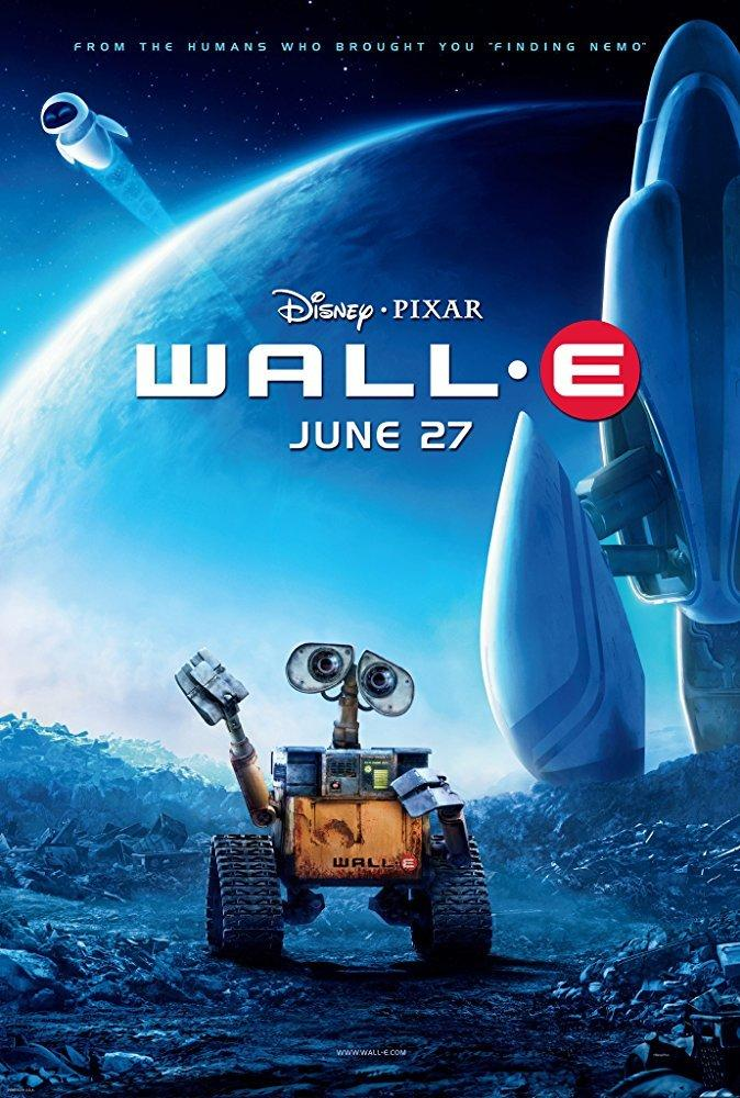 3. Wall-E (2008)