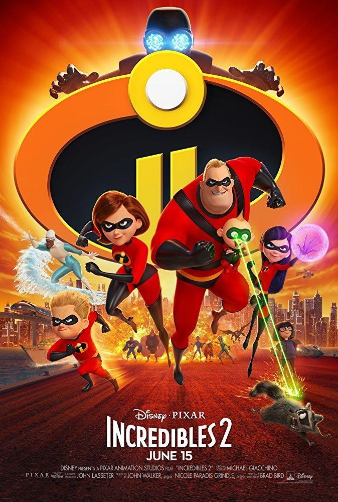 11. Incredibles 2 (2018)