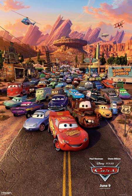 15. Cars (2006)