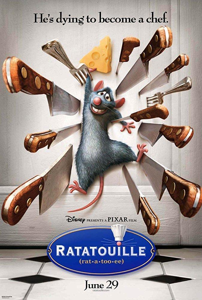 1. Ratatouille (2007)