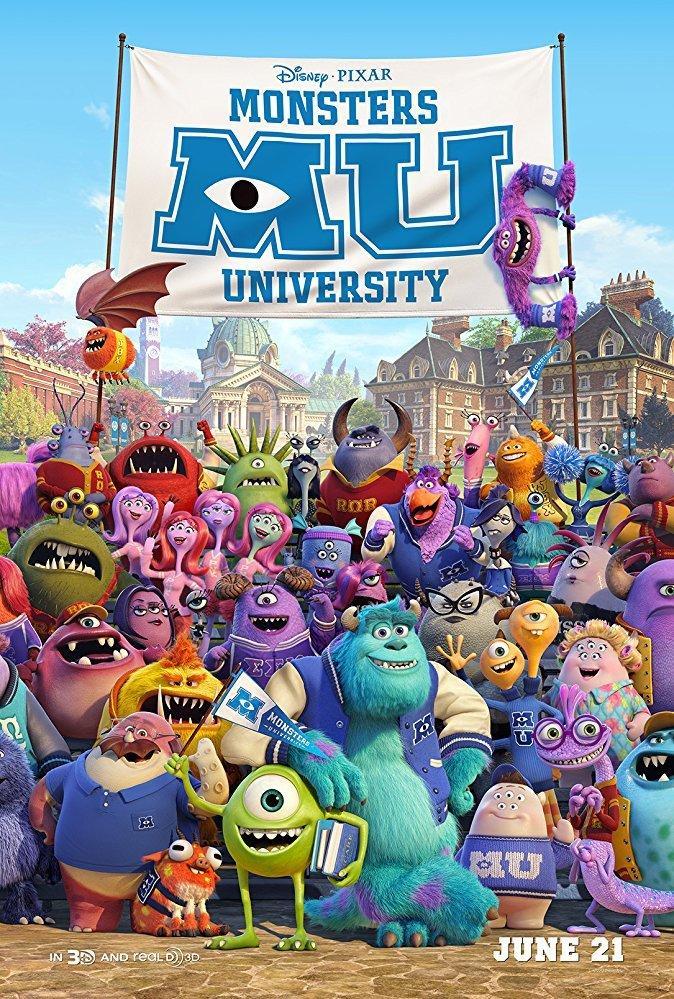18. Monsters University (2013)
