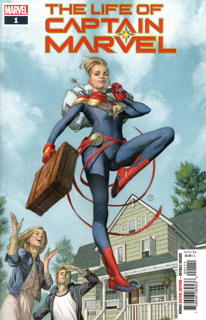 10. The Life of Captain Marvel