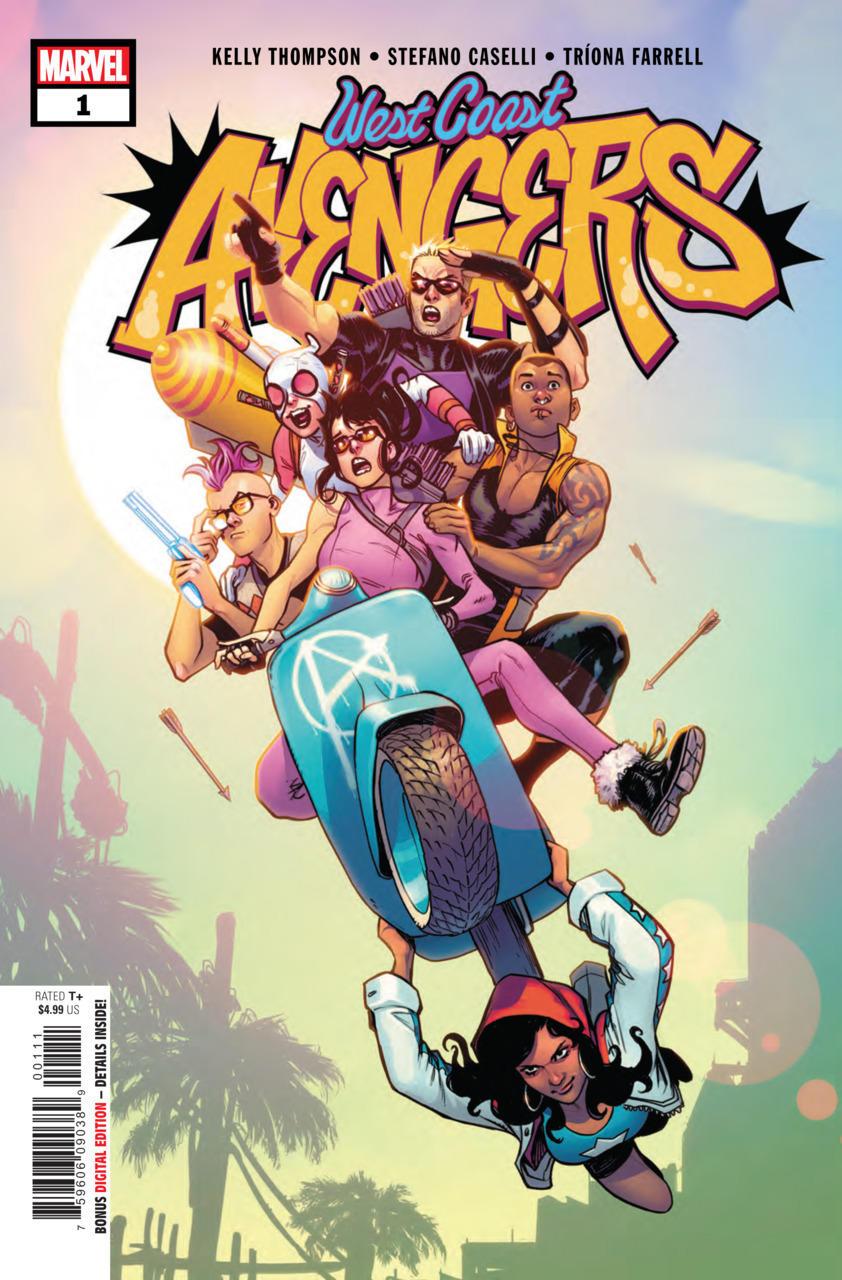 8. West Coast Avengers