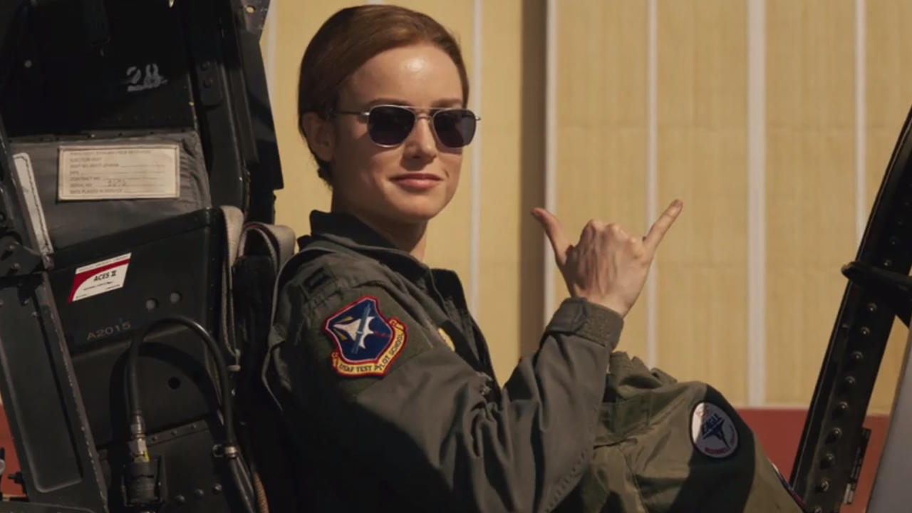 Carol was in the Air Force, despite the origin story changes