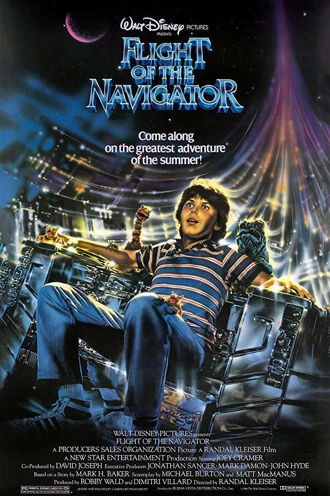 10. Flight of the Navigator (1986)