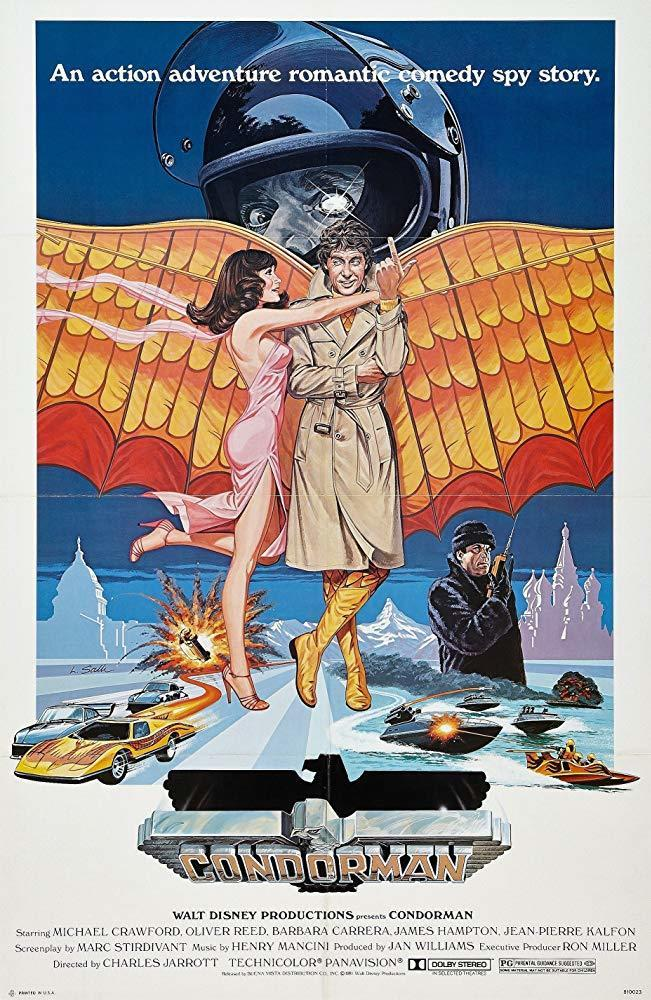 5. Condorman (1981)