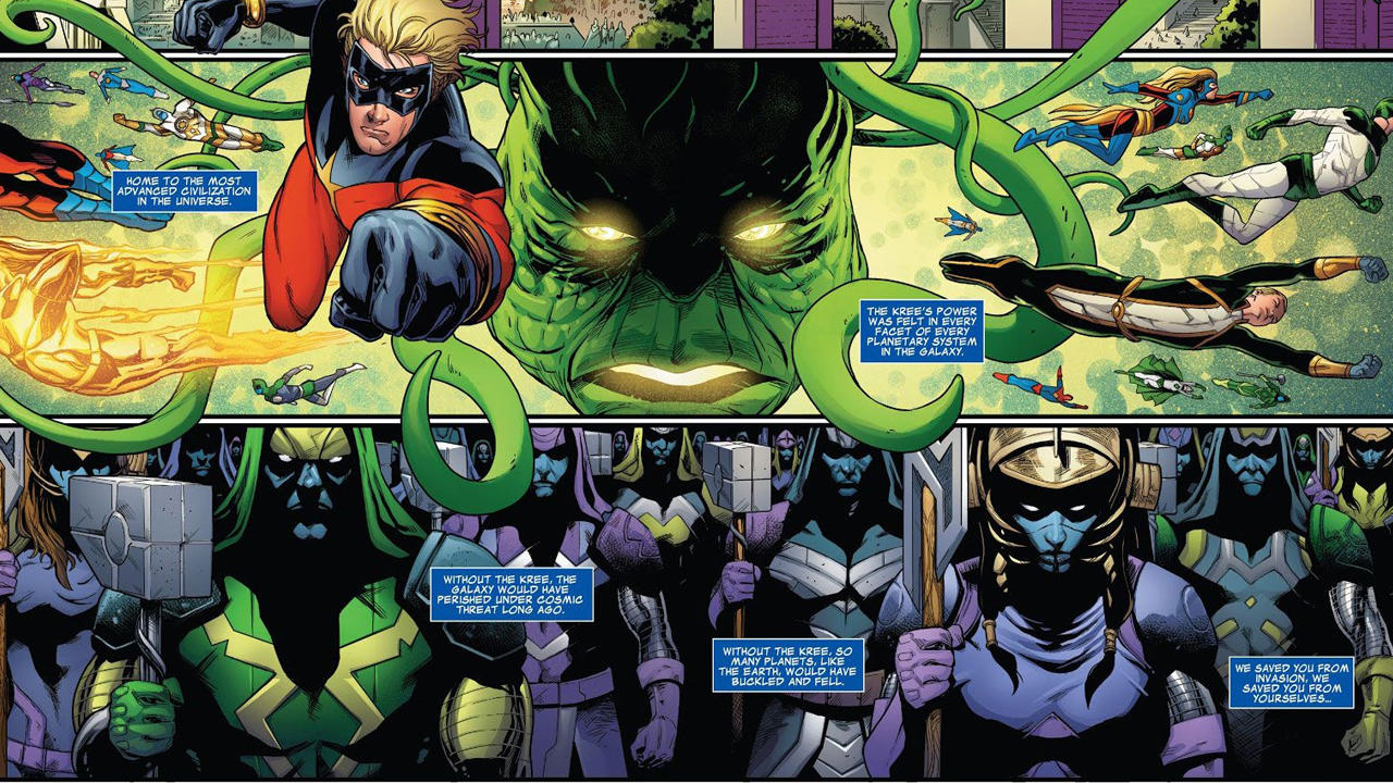 The Kree (For Real)