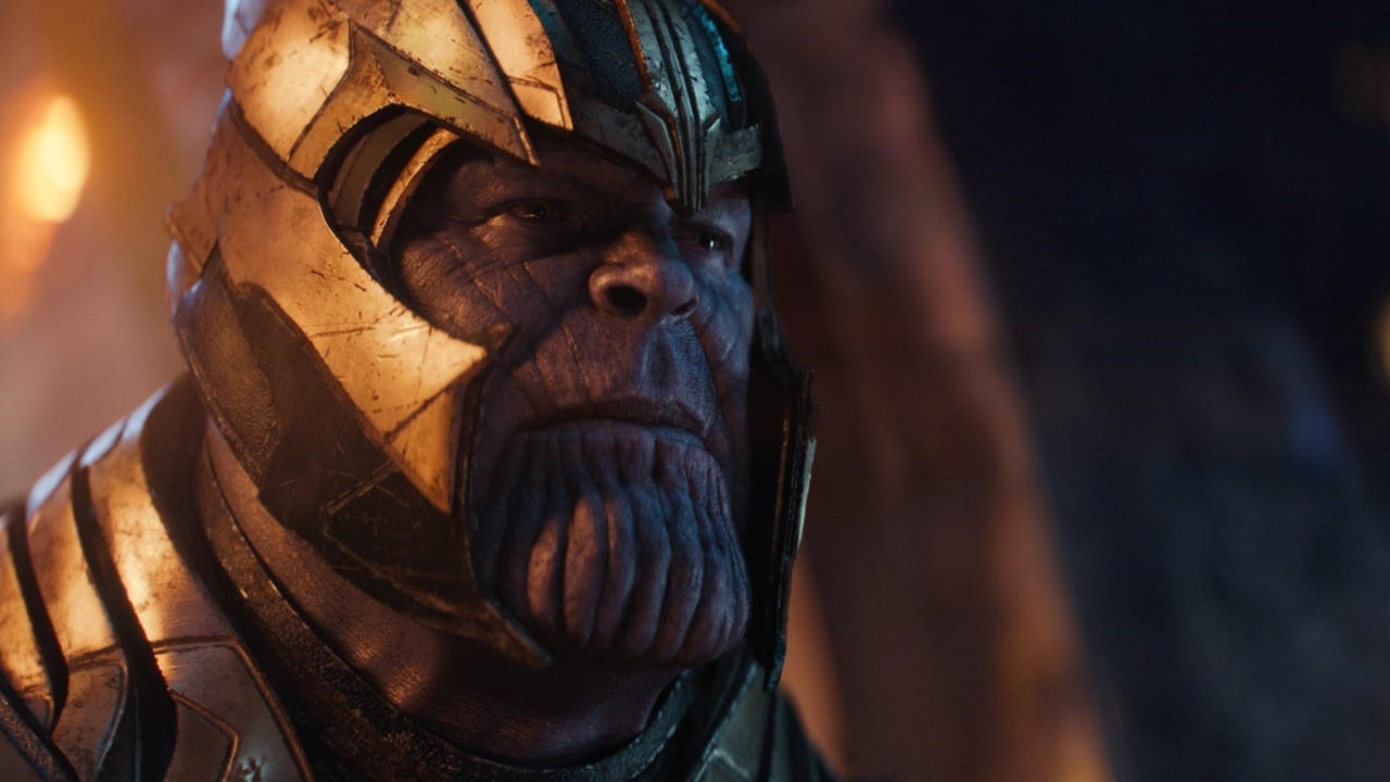 Why is Thanos with four Infinity Stones (Infinity War) less powerful than Thanos with zero Infinity Stones (Endgame)?