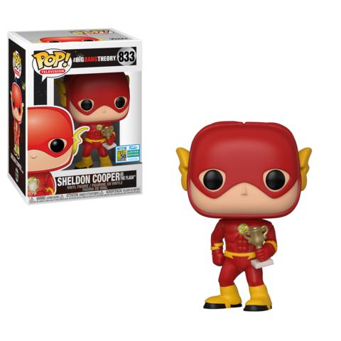 Sheldon as The Flash