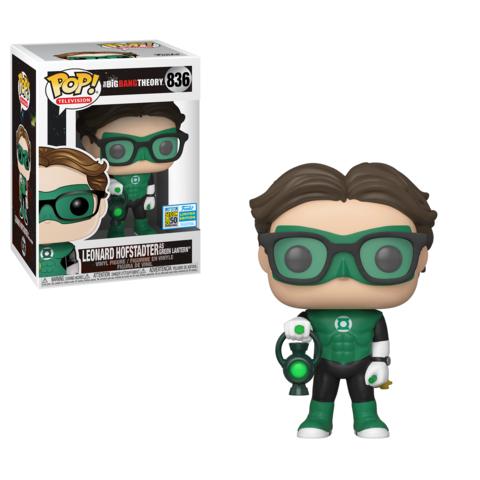Leonard  as the Green Lantern