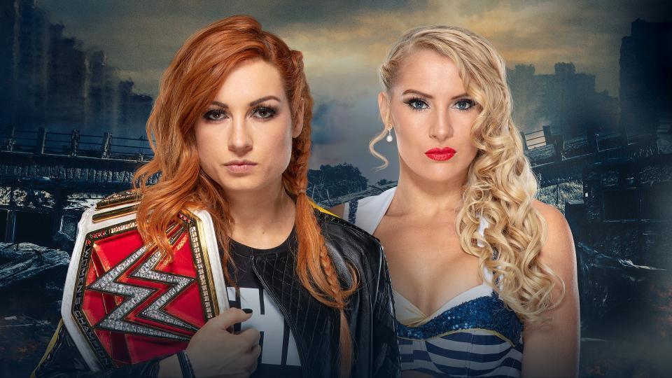Becky Lynch (c) vs. Lacey Evans