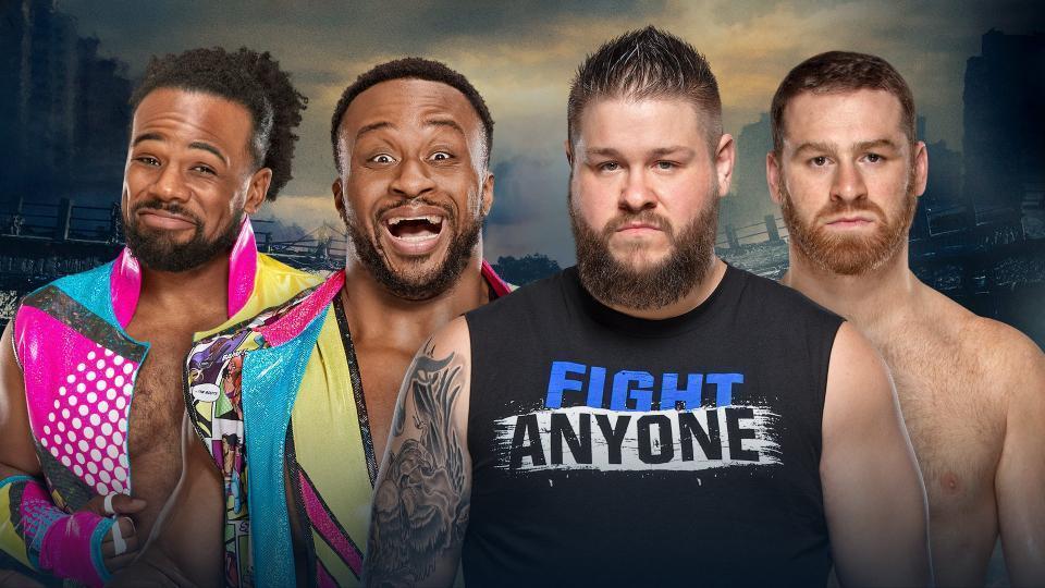 Big E & Xavier Woods vs. Kevin Owens & Sami Zayn
