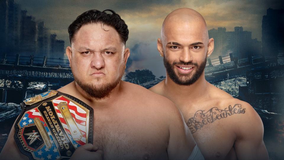 Samoa Joe (c) vs. Ricochet