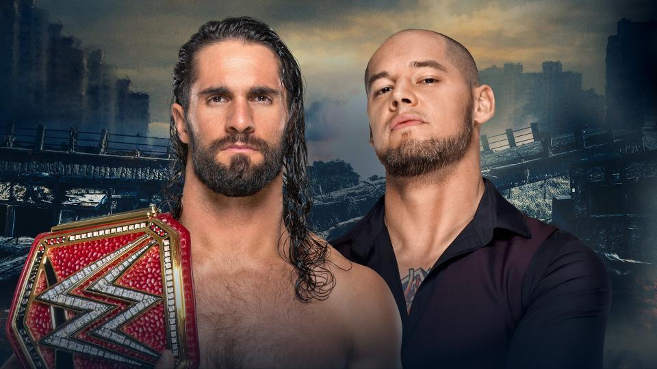 Seth Rollins (c) vs. Baron Corbin