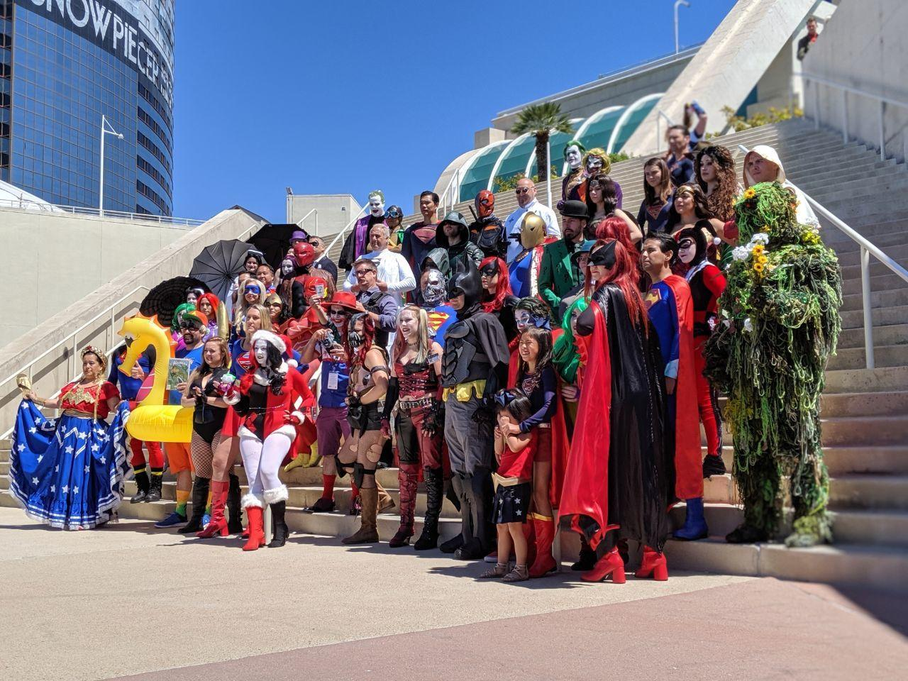 San Diego Comic-Con may be different this year, but we can still marvel at the great cosplay we've seen in the past.
