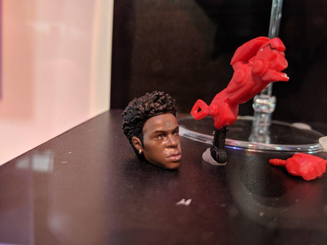 Beast Morphers Red Ranger secondary head