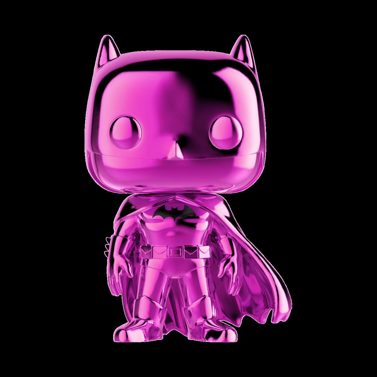 Pink chrome Batman