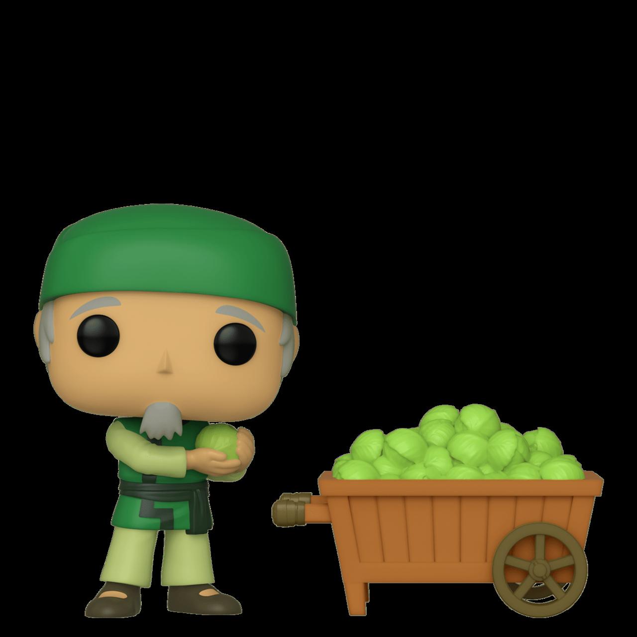 Cabbage Man & Cart
