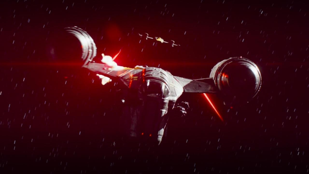 1. The bounty hunter's ship