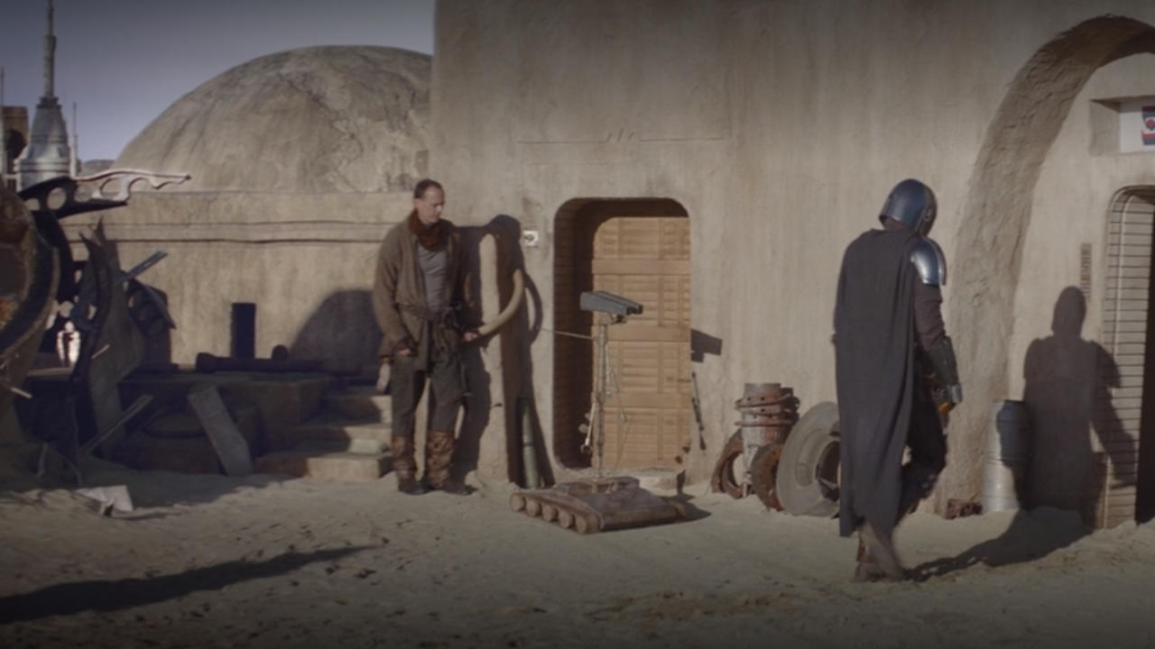 6. Another familiar droid
