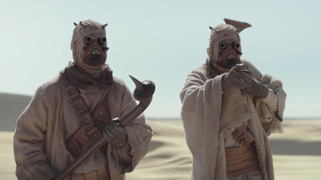 10. Tusken Raiders not painted in a bad light for once