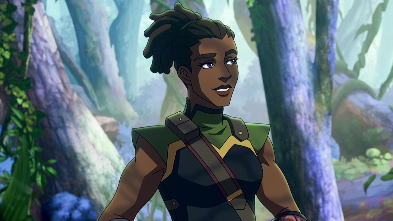 2. Andra: Lieutenant of the Eternian Guard