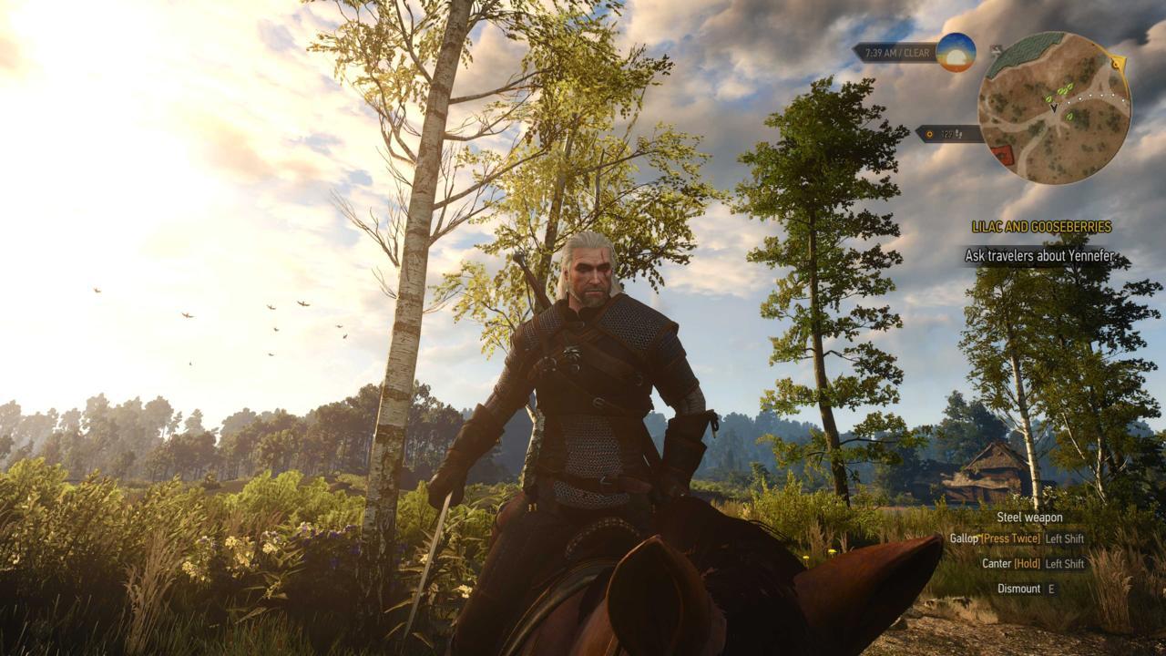 10. The Witcher 3: Wild Hunt
