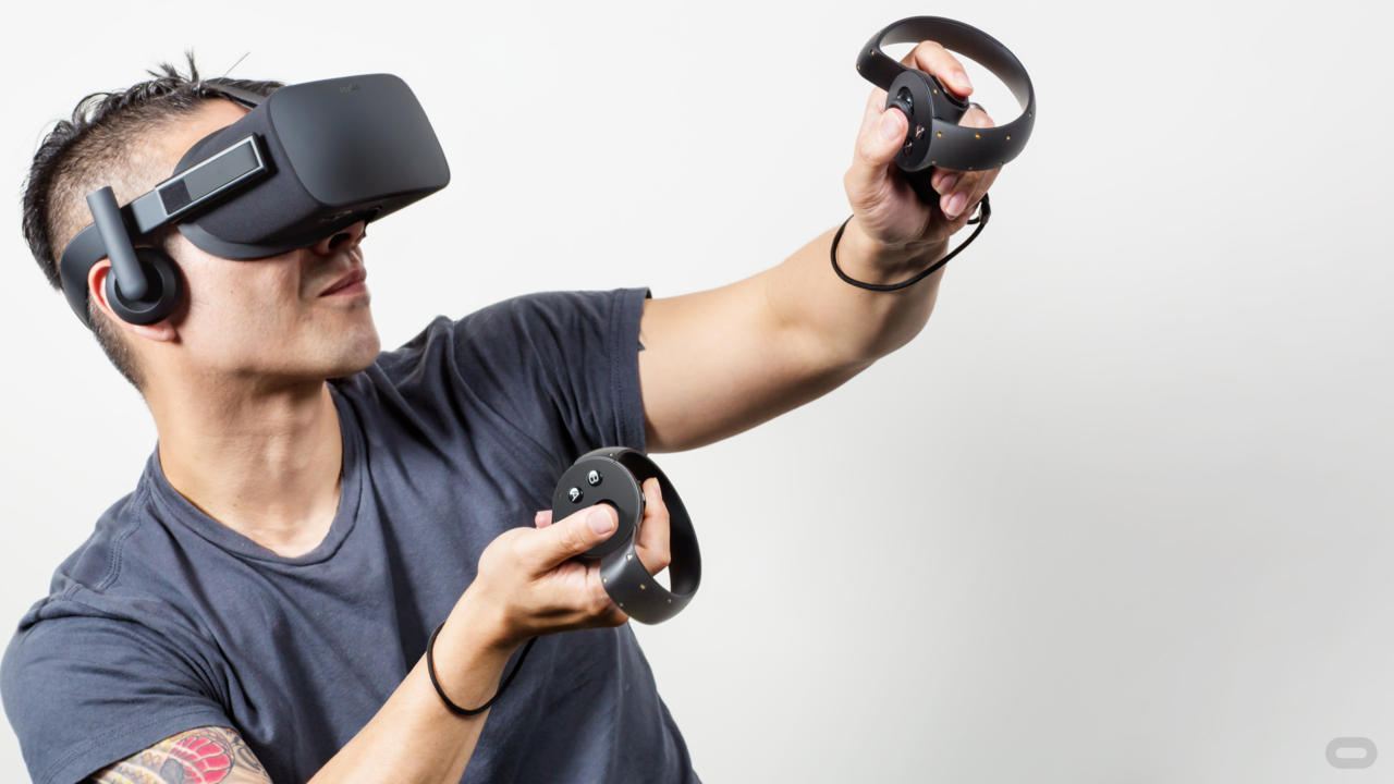 Oculus aims to release its motion-tracked Touch VR controllers later this year.
