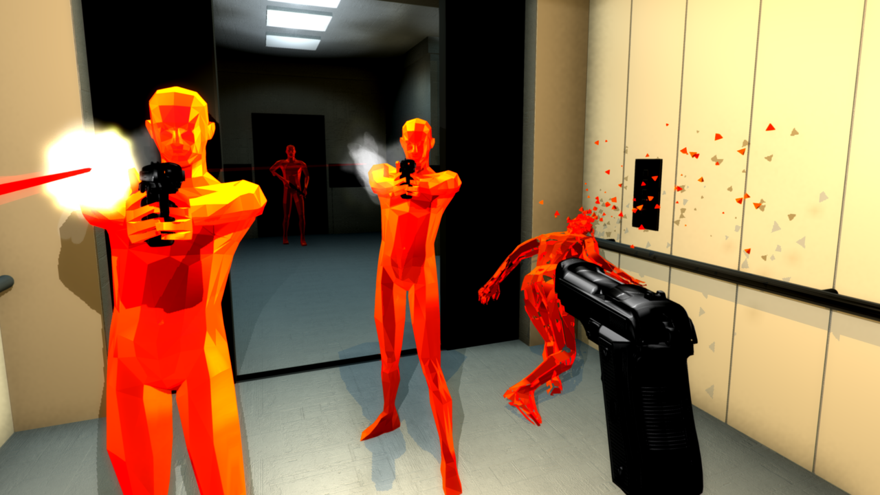 SuperHot is coming to VR, but it will be a timed-exclusive with the Oculus Rift first.
