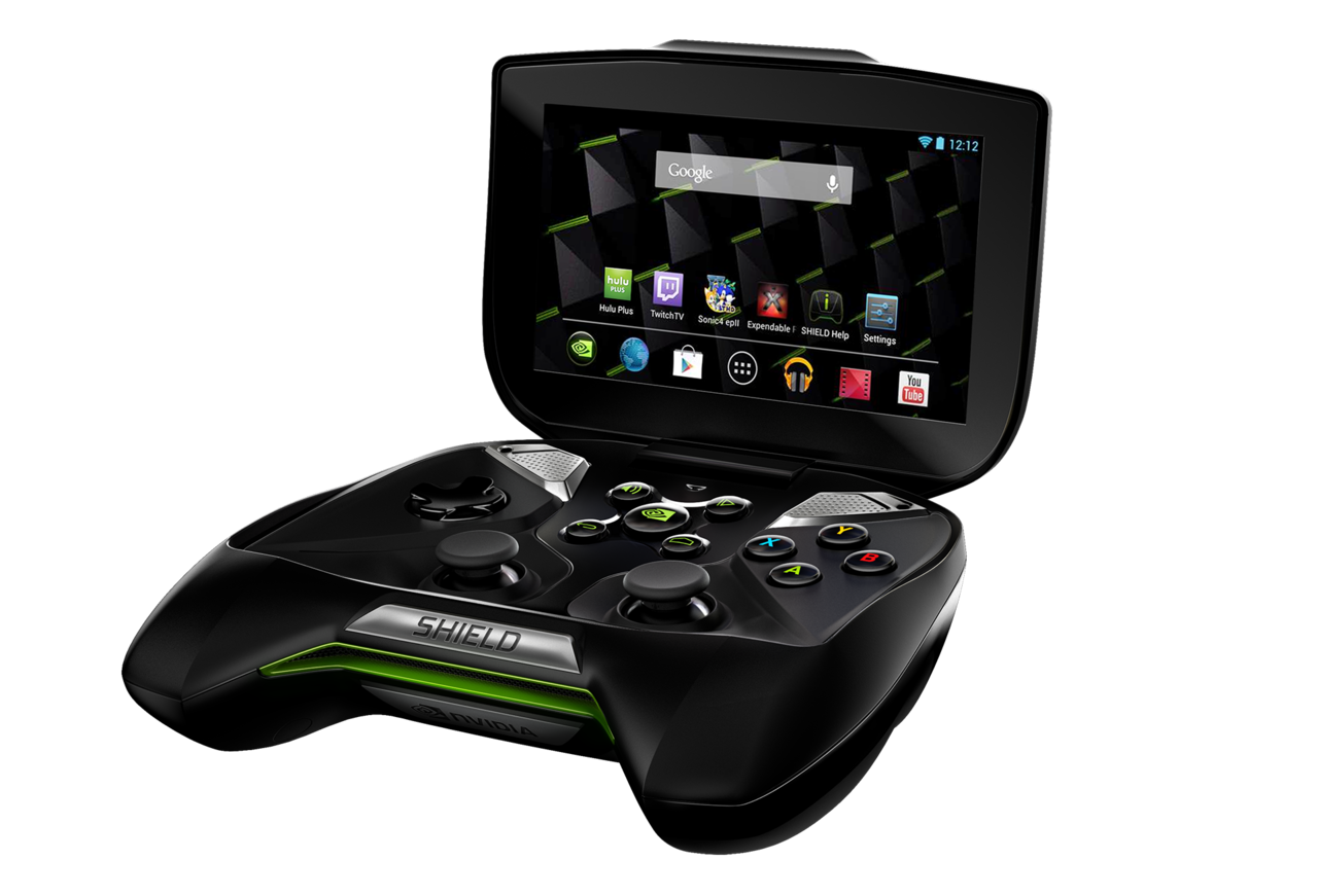 Little is known about Nintendo's upcoming NX console, but rumors indicate that it will be going down a console/portable hybrid route and that it will be powered by Nvidia's Tegra chip, which was originally used in the company's Shield device above.