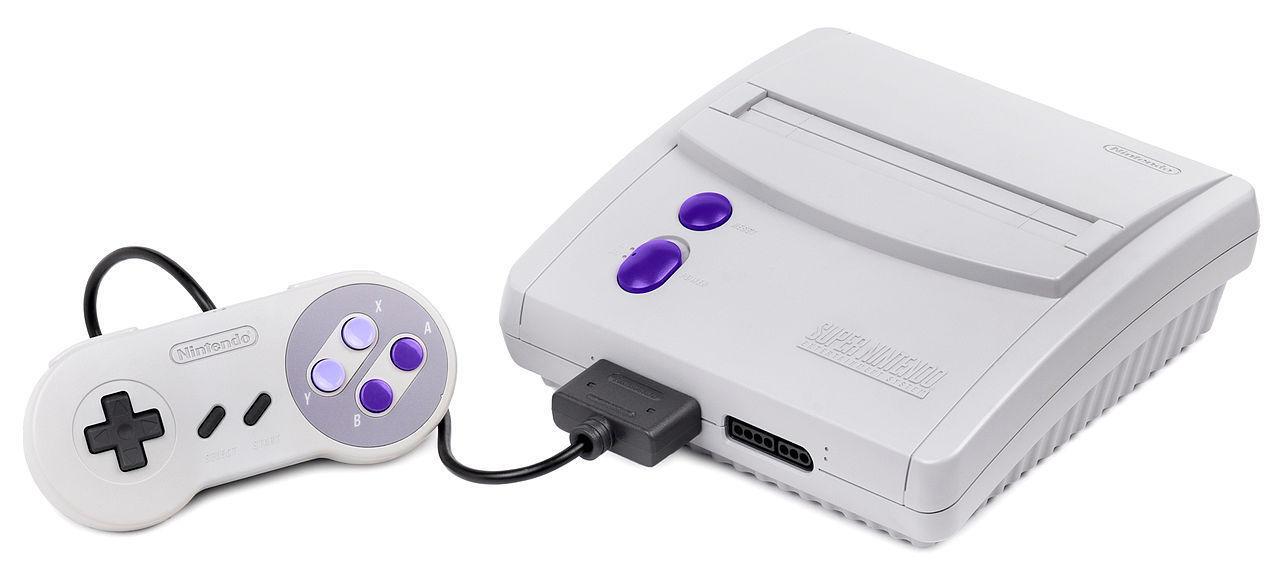 Super Nintendo Entertainment System (Model SNS-101)
