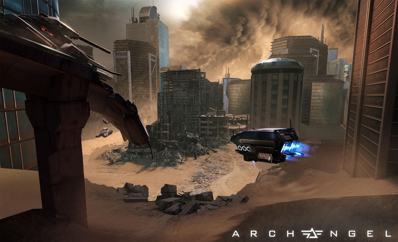 HTC is working with developers like Skydance Interactive to bring first-person mech shooters like Archangel to the Vive.