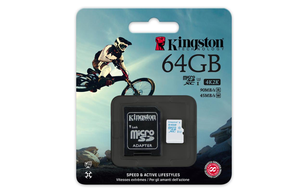 Kingston Technologies 64GB SDCAC