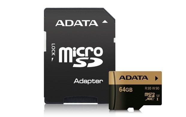 ADATA 64GB UHS-I (3) microSDXC card